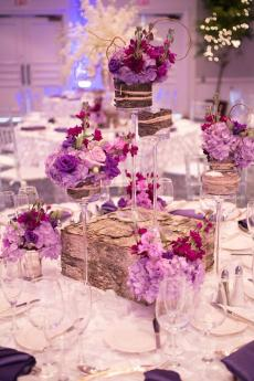 Цветочные композиции на столе