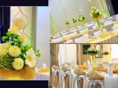 Свадебная композиция на стол